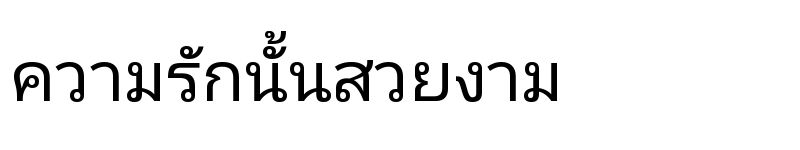 Preview of Noto Sans Thai UI Regular
